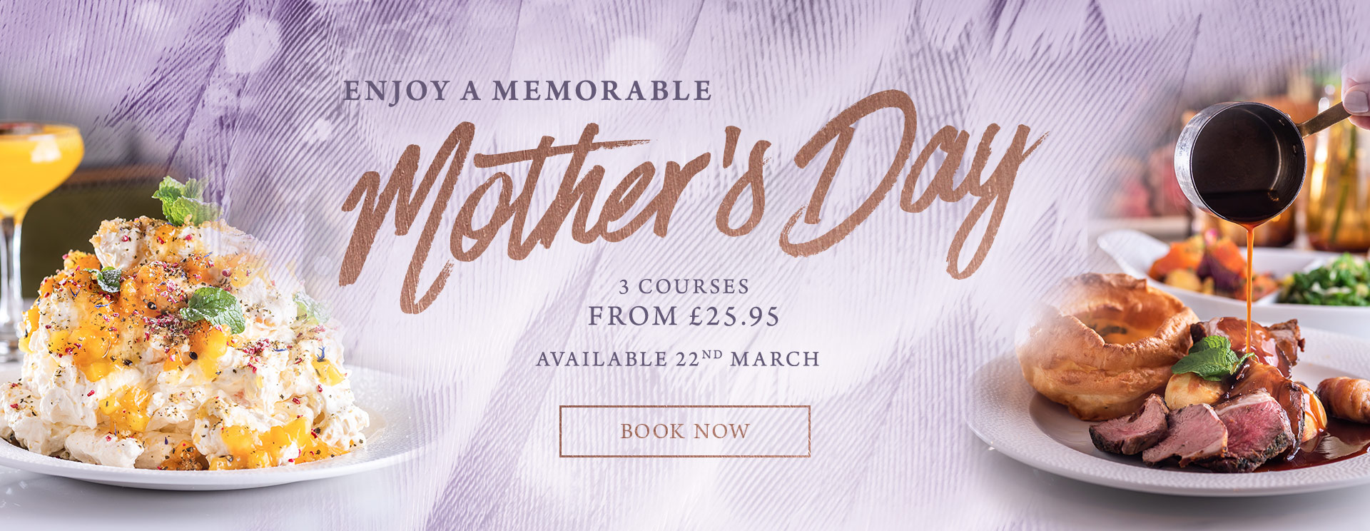 Mother's Day 2019 at The Trout Inn