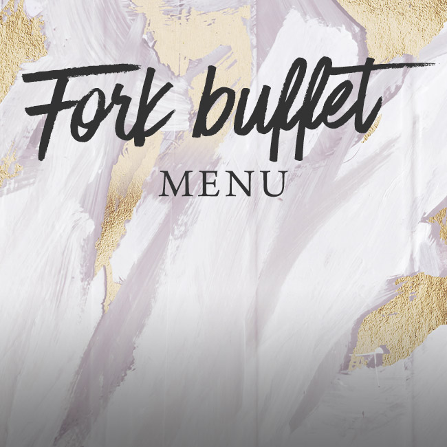 Fork buffet menu at The Trout Inn