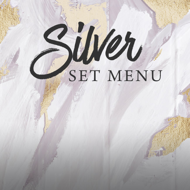 Silver set menu at The Trout Inn