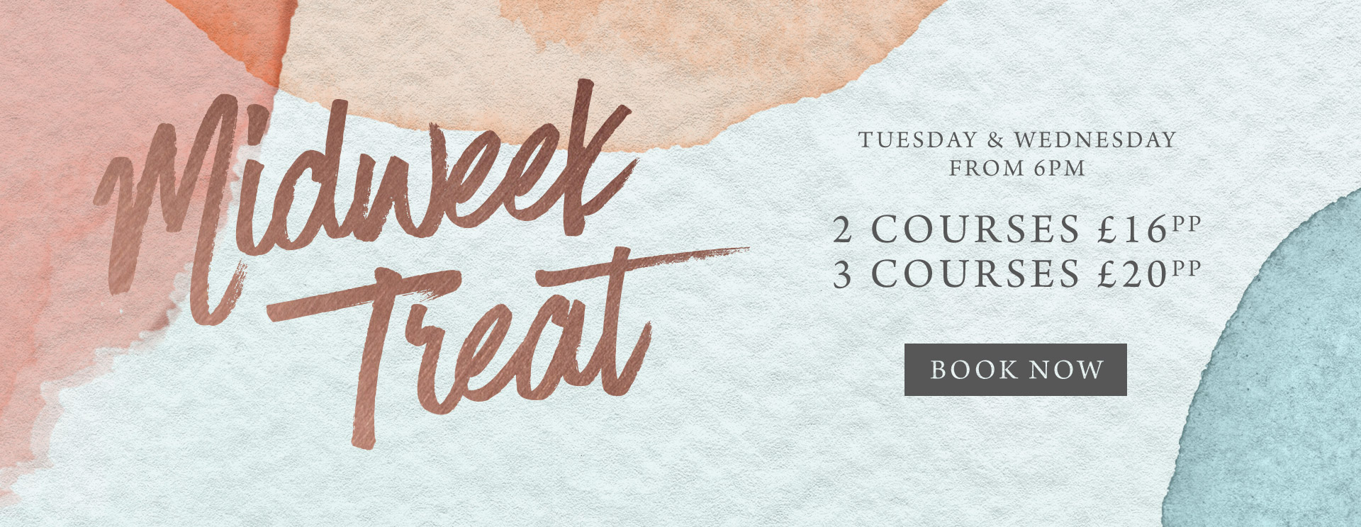 Midweek treat at The Trout Inn - Book now