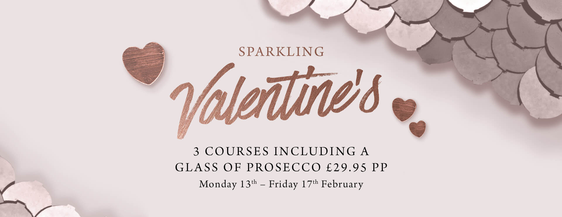 Valentines at The Trout Inn